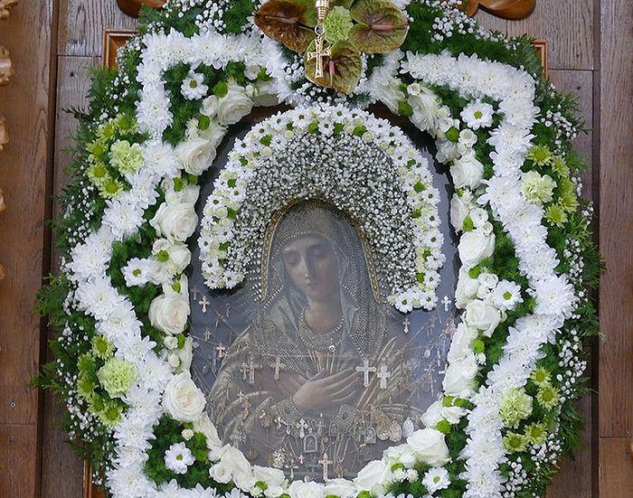 Одна из святынь обители - чудотворная икона Божией Матери «Умиление». Фото: Из архива монастыря