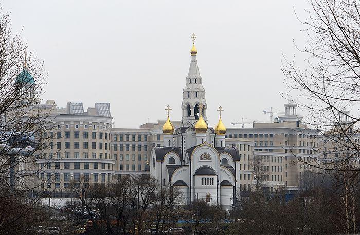 Храм Иверской Божией Матери при академии ФСБ