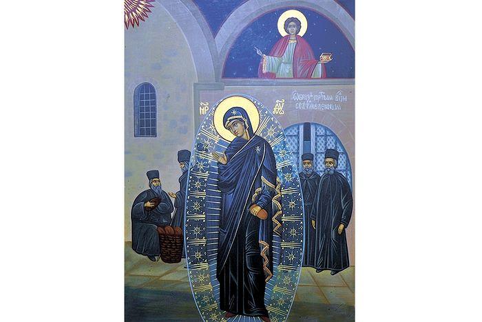 Светописанный образ Божией Матери