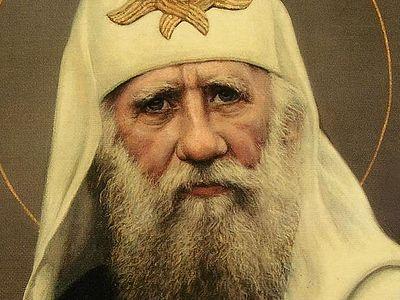 Всенощное бдение в Сретенском монастыре накануне дня памяти свт. Тихона, патриарха Московского и всея Руси