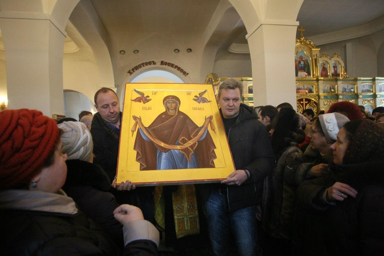 19-20 ноября в Москве можно помолиться перед афонской иконой «Пояс Пресвятой Богородицы»