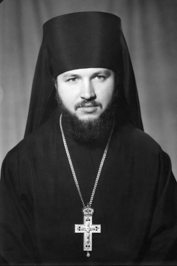 His Holiness Patriarch Kirill's 70th birthday.  Archimandrite Kirill of Vyborg, rector of the Leningrad Spiritual Academy. 1970s.