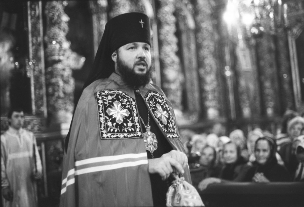 His Holiness Patriarch Kirill's 70th birthday.  Homily at Dormition Cathedral in Smolensk. 1980s.