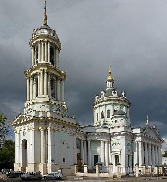 Храм Мартина Исповедника — один из самых ярких памятников архитектуры классицизма в Москве