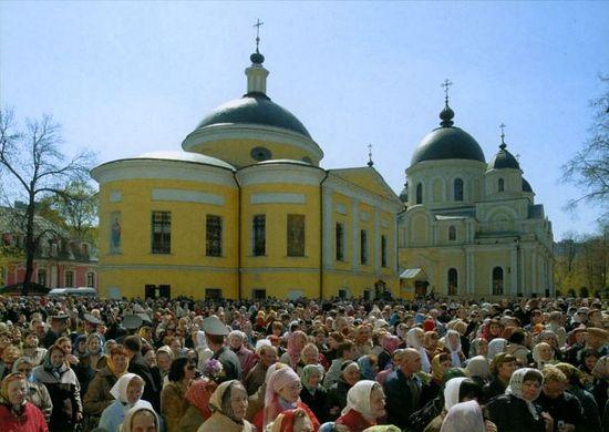 Покровский монастырь, где пребывают мощи святой Матроны Московской