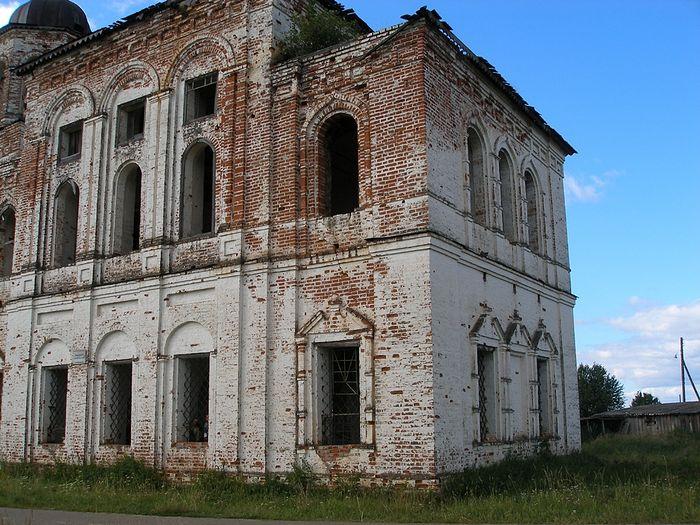 Алтарная часть храма Богоявления