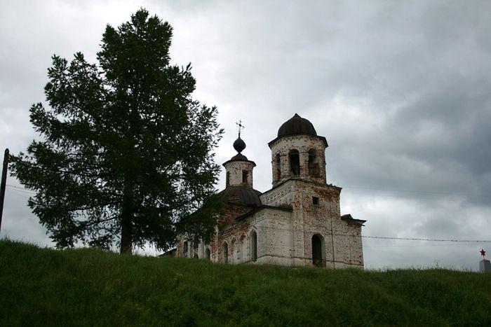 Храм-мученик Республики Коми