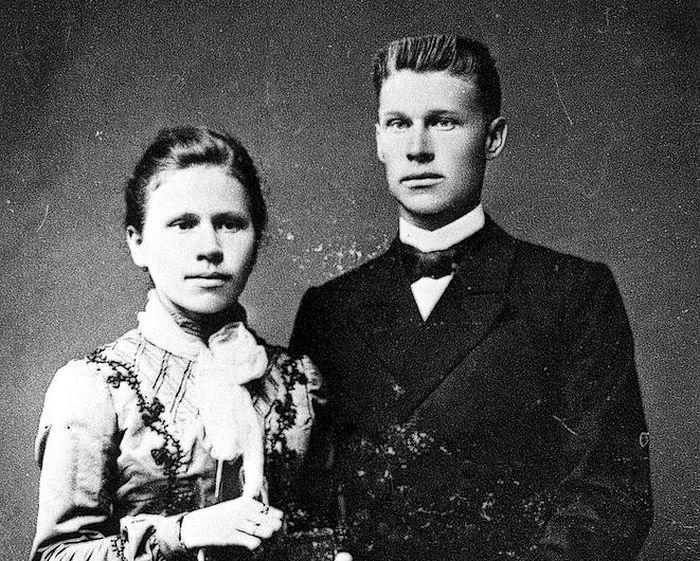 Отец Василий и матушка Агния Распутины