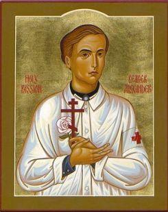 Holy Passion Bearer Alexander Schmorell.