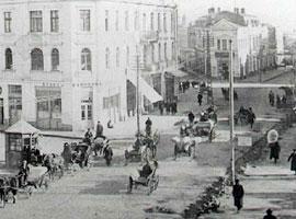 Бургас. Болгария. Городские улицы начала XX века.