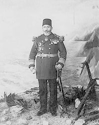 Турок-начальник порта. Фотография начала XX века.