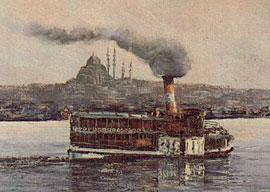 Прощание с Константинополем.