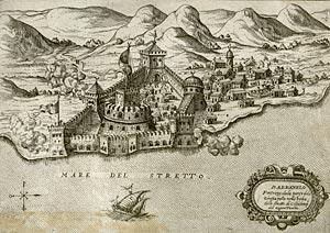 Дарданеллы. Крепость. Карта 1572 г.