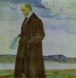М. Нестеров. Мыслитель. Портрет философа И. Ильина