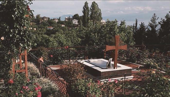 Gerontissa's grave