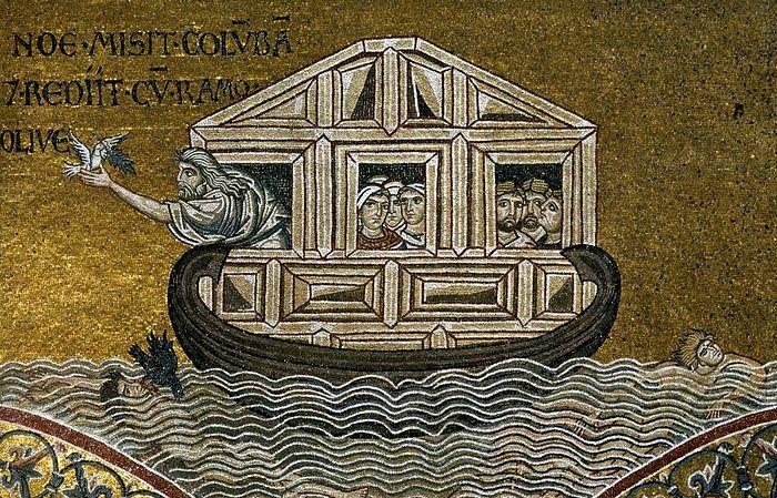 Кафедральный собор Монреале на Сицилии. Мозаика