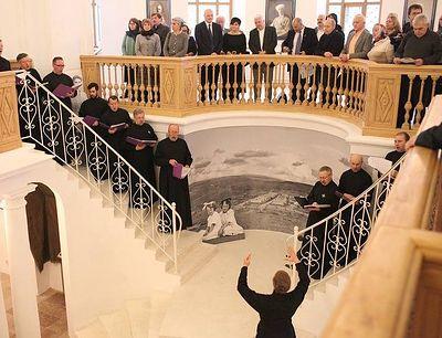 В Новоспасском монастыре открылась выставка, посвященная героям Белого движения