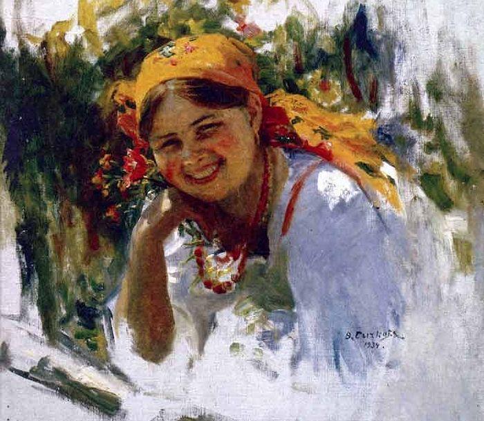 Художник Ф.В.Сычков. 1934 г.
