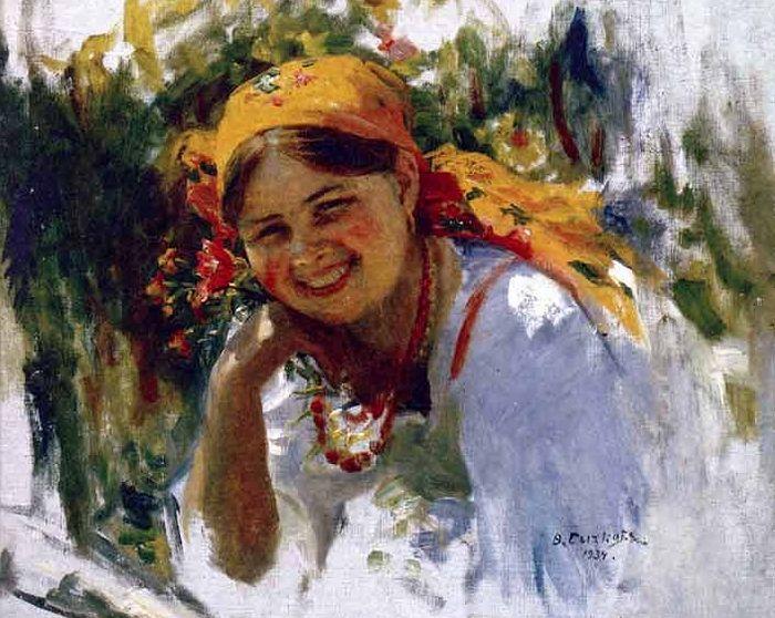Сликар Ф.В. Сичков. 1934. г.