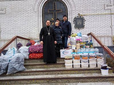 Священнослужители доставили 17 тонн гуманитарной помощи жителям Донбасса