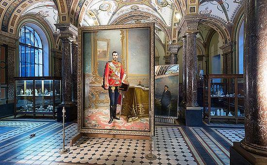 Portrait of Emperor Nicholas II (1896) Ilya Savich Galkin (1860-1915)