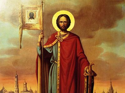 Современный кризис личности и величие примера святого князя Александра Невского