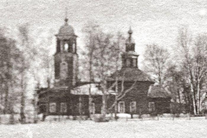 Фото Троицкого храма до его разрушения