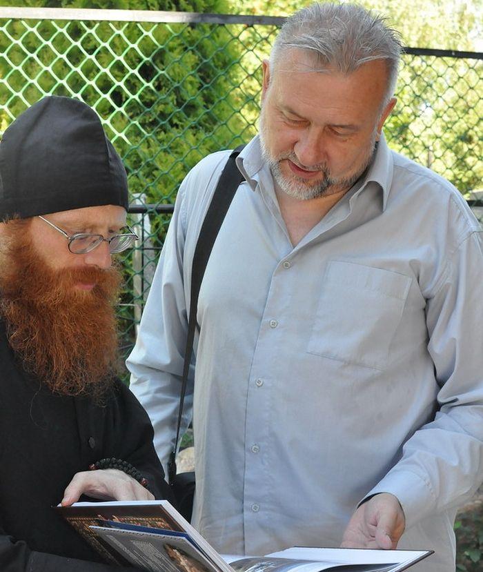 С главным редактором Русской народной линии Анатолием Степановым