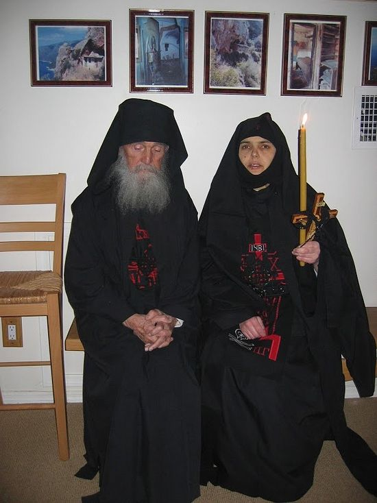 Elder Ephraim and Mother Evpraxia