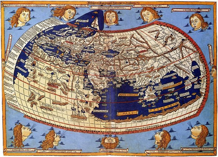 """Птоломејева """"Карта света"""""""