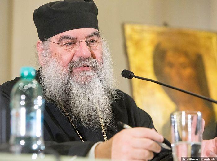 Митрополит Лимасольский Афанасий. Фото: В.Ходаков / Православие.Ru