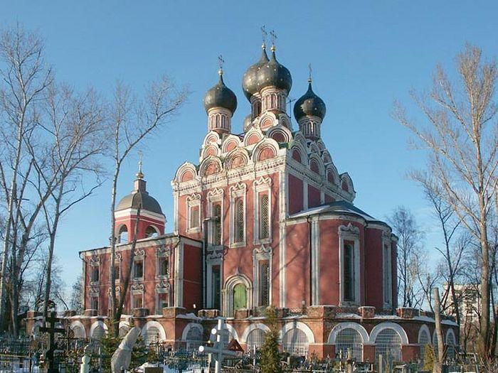 Храм Тихвинской иконы Богородицы. Москва
