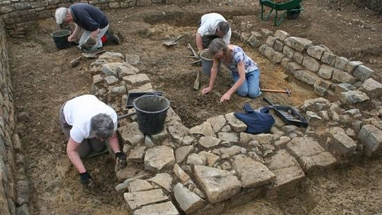 SW HERITAGE TRUST/The site was excavated in May by the South West Heritage Trust team of archaeologists