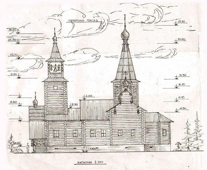 Проект будущего храма села Палевицы