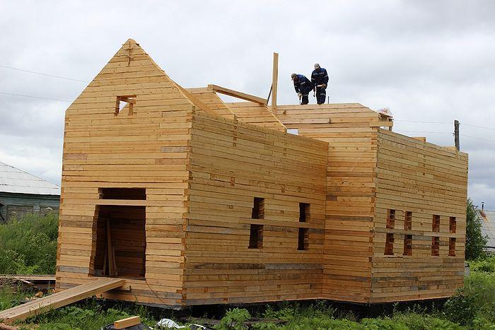 Новый храм села Палевицы будет в деревянном исполнении