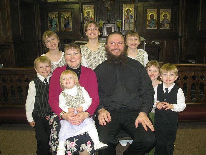 Семья священника Джозефа Глисона