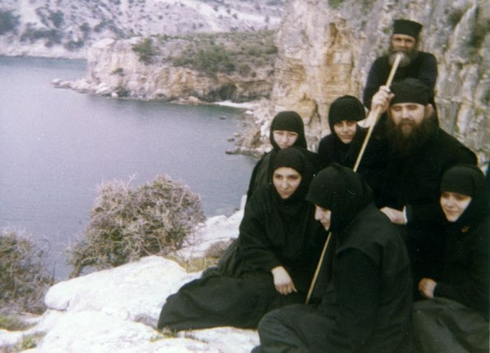 Elder Ephraim with his nuns