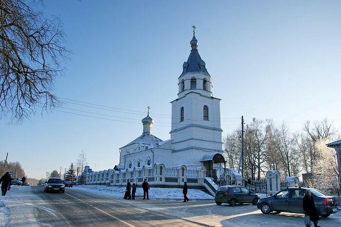 Церковь святителя Николая в селе Николо-Крутины