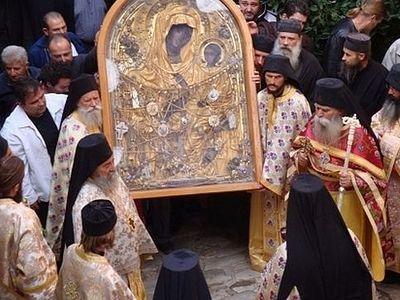 Чудо в Дохиарском монастыре: немой от рождения заговорил перед чудотворной иконой