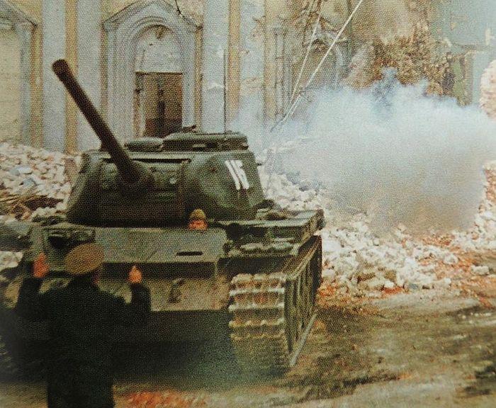 Снос здания Спасо-Всеградского собора. Фото 1972 года