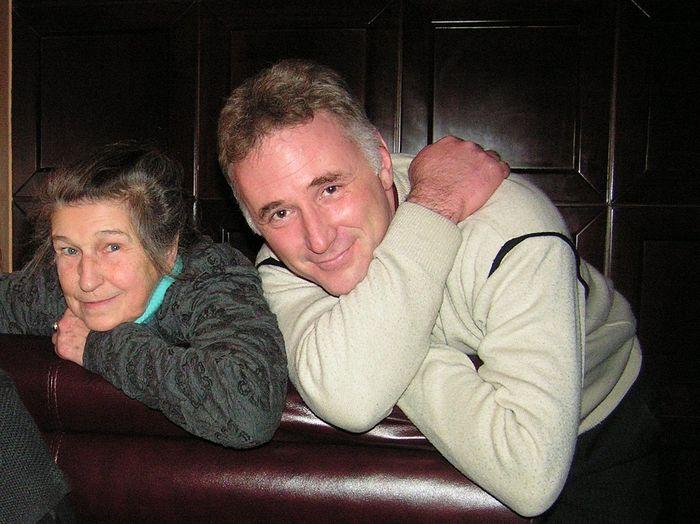 Писательница Юлия Вознесенская и психолог Михаил Хасьминский