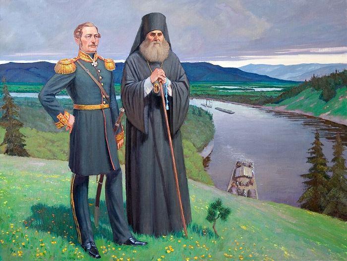Святитель Иннокентий Иркутский и граф Н.Н. Муравьев-Амурский