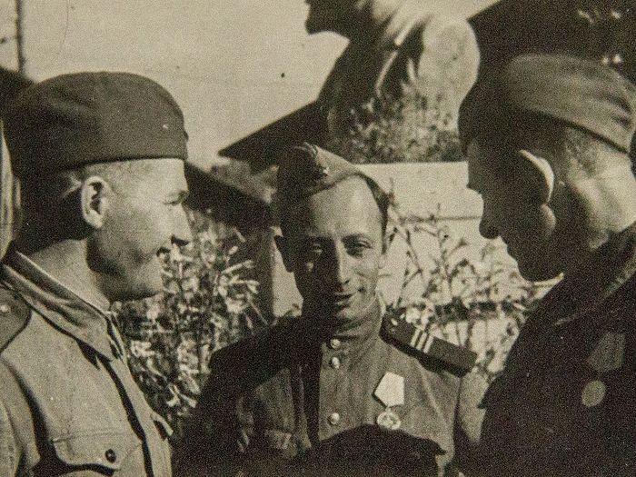 Сержант Георгий Степанов. Лето 1944 г