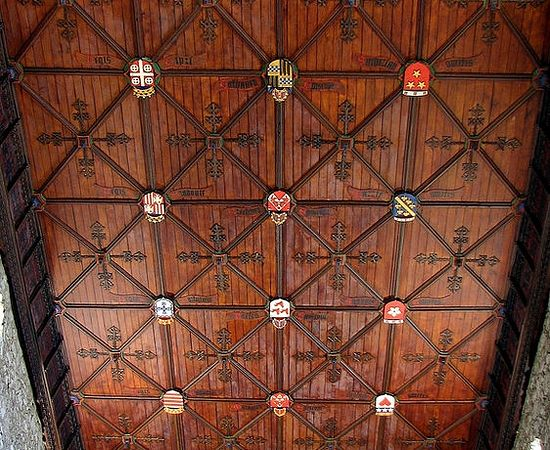 Ceiling of St. Machar's Cathedral