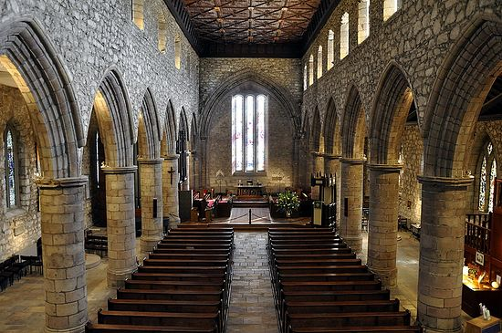 Interior of St. Machar's Cathedral