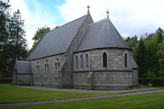 St. Drostan's Church in Tarfside, Glen Esk (source - Stdrostans.org)