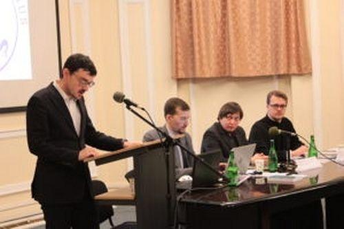 Выступление А. Г. Зоитакиса на круглом столе «Православное церковное высшее образование в современном мире»