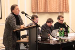 М. В. Таланкина пригласила всех работать над стандартом по теологии