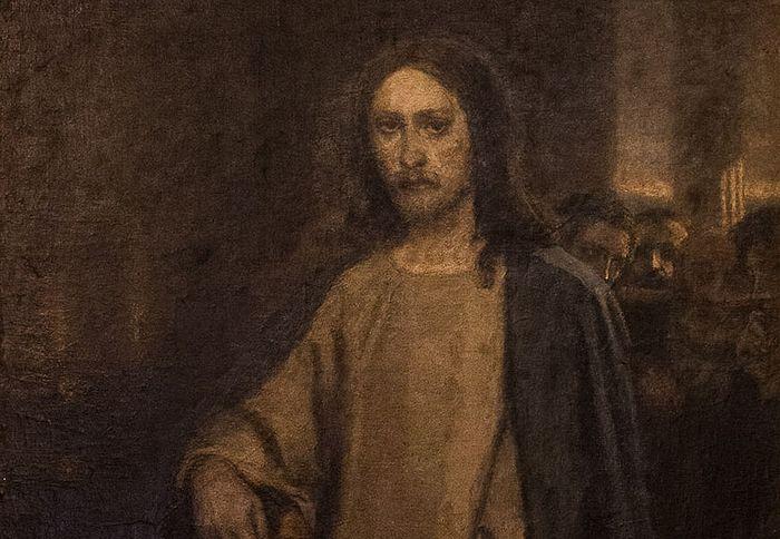 В. М. Васнецов, Исцеление слепорожденного, 1888