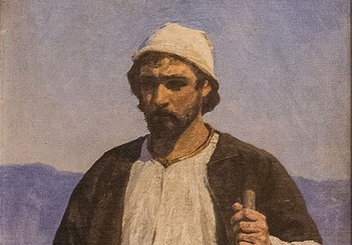В. Д. Поленов. Христос Спаситель. Эскиз к картине